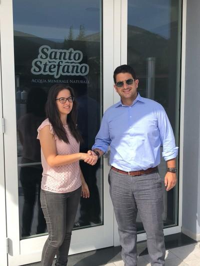Passione per sport e benessere: P2P e Acqua Santo Stefano rinnovano la propria partnership