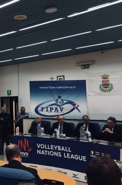 Volleyball Nations League ad Eboli: la P2P alla conferenza di presentazione